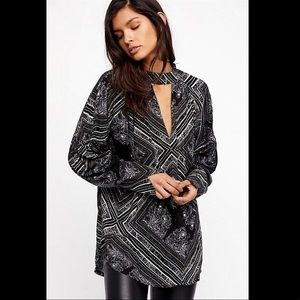 NWT Free People Walking on a Dream Tunic Top